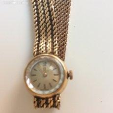 Relojes de pulsera: RELOJ DE ORO CYMA. IMPECABLE. AÑOS 60. Lote 172819565