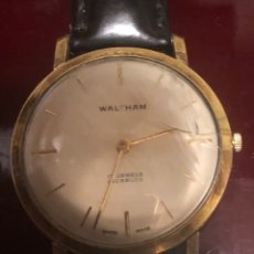 Relojes de pulsera: RELOJ DE PULSERA CHAPADO EN ORO WALTHAM. Lote 172894445