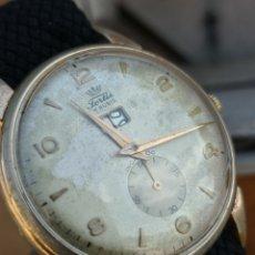 Relojes de pulsera: M1 RELOJ FORTIS VINTAGE CALENDARIO RARO. Lote 172915624