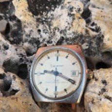 Relojes de pulsera: C1/1 RELOJ VINTAGE LUCERNE CUERDA FUNCIONANDO. Lote 172942338