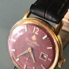 Relojes de pulsera: RELOJ CUERVO Y SOBRINOS HABANA SWISS MADE AÑOS 40 FUNCIONA CORRECTAMENTE. Lote 172948454
