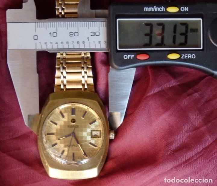 Relojes de pulsera: RELOJ DE PULSERA ROAMER SEAROCK DORADO DE 1975 EN BUEN ESTADO ( EXCEPTO CRISTAL) - Foto 6 - 172982815