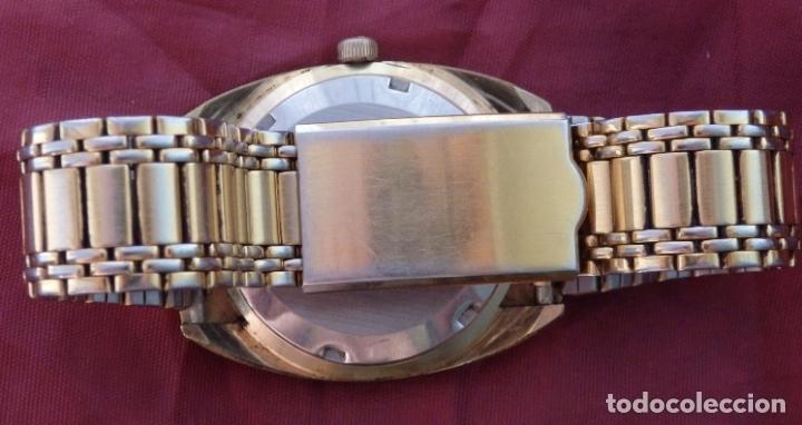 Relojes de pulsera: RELOJ DE PULSERA ROAMER SEAROCK DORADO DE 1975 EN BUEN ESTADO ( EXCEPTO CRISTAL) - Foto 12 - 172982815