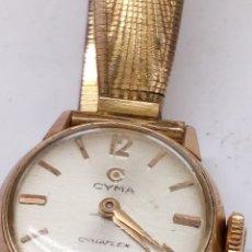 Relojes de pulsera: RELOJ CYMA CARGA MANUAL. Lote 173009754