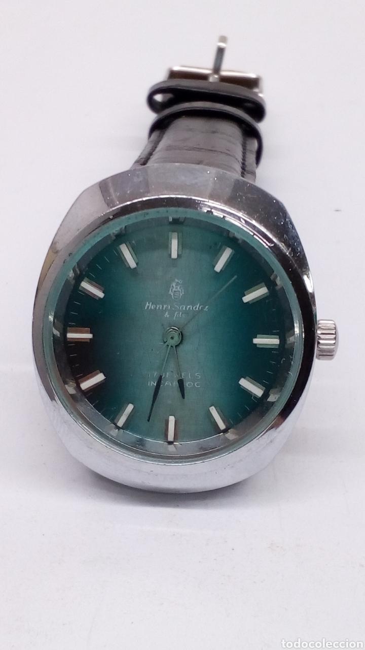 RELOJ HENRI SANDOZ & FILS CARGA MANUAL (Relojes - Pulsera Carga Manual)