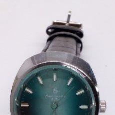 Relojes de pulsera: RELOJ HENRI SANDOZ & FILS CARGA MANUAL. Lote 182297228