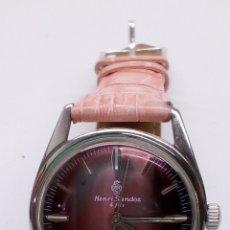 Relojes de pulsera: RELOJ HENRI SÁNDOZ FILS CARGA MANUAL. Lote 173042992