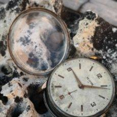 Relojes de pulsera: C1/5 RELOJ VINTAGE PETERN/RESGAR 38MM PIEZAS /PROYECTOS. Lote 173098977