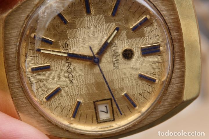 Relojes de pulsera: RELOJ DE PULSERA ROAMER SEAROCK DORADO DE 1975 EN BUEN ESTADO ( EXCEPTO CRISTAL) - Foto 13 - 172982815