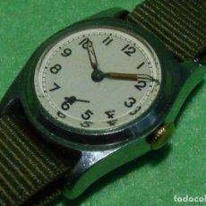 Relojes de pulsera: RARO RELOJ MILITAR LACO MECANICO CALIBRE 526 SWISS MADE 15 RUBIS COLECCIÓN AÑOS 30. Lote 173325864