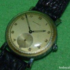 Relojes de pulsera: HERMOSO RELOJ MOVADO 15 RUBIS CALIBRE 75 AÑOS 40 COLECCIÓN VINTAGE. Lote 173341278