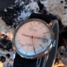 Relojes de pulsera: C1/5 RELOJ VINTAGE ACTION CUERDA FUNCIONANDO. Lote 173355258