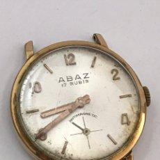 Relojes de pulsera: RELOJ ABAZ 17 RUBÍS CARGA MANUAL VINTAGE 31 MM. Lote 173446684