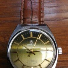 Relojes de pulsera: ANTIGUO AÑOS 50 RELOJ CABALLERO CUERDA LANCO,17 JEWELS SHOCKPROOF SWISS MADE FUNCIONANDO. Lote 173524179