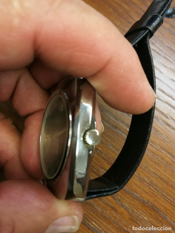 Relojes de pulsera: ANTIGUO RELOJ SUIZO DE CARGA MANUAL MARCA HELVETIA GS FUNCIONANDO - Foto 3 - 173524954