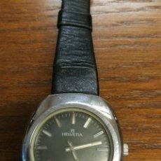 Relojes de pulsera: ANTIGUO RELOJ SUIZO DE CARGA MANUAL MARCA HELVETIA GS FUNCIONANDO. Lote 173524954