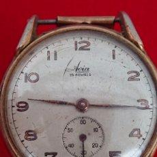 Relojes de pulsera: ANTIGUO RELOJ DE CUERDA AVIA 15 JEWELSJEWELSS. Lote 173580485
