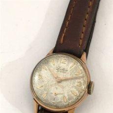 Relojes de pulsera: RELOJ DELICE CARGA MANUAL SEÑORAS FUNCIONA. Lote 173632022