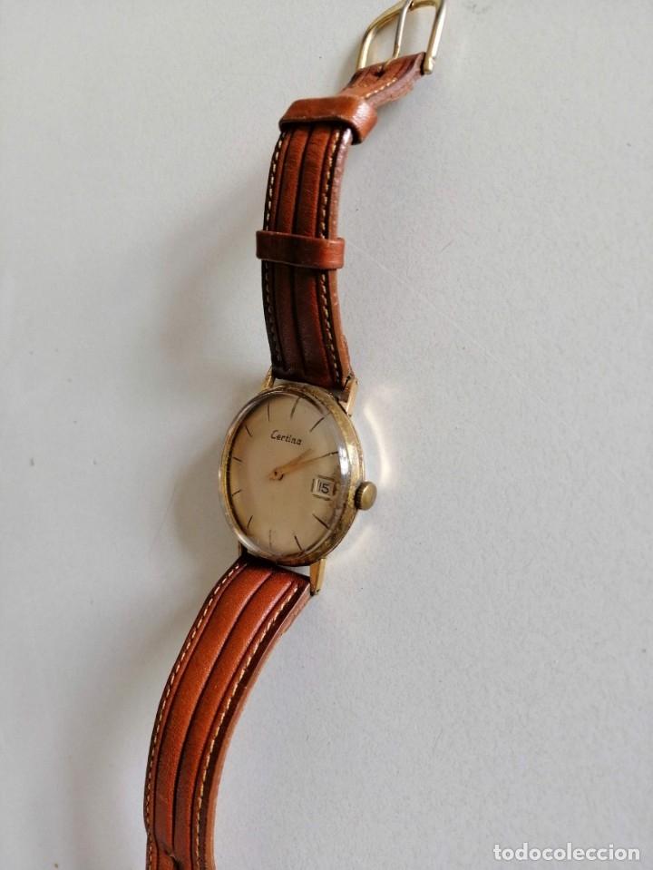 Relojes de pulsera: ANTIGUO RELOJ CERTINA BUENAS CONDICIONES FUNCIONANDO AL MINUTO AÑOS 50 - Foto 2 - 173681660