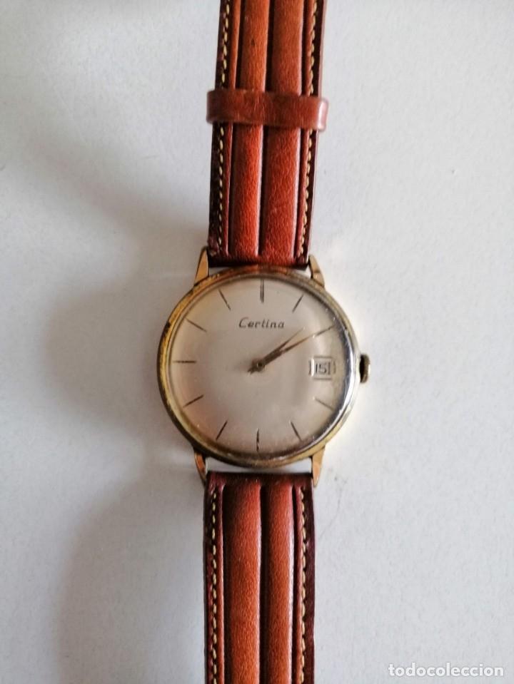 Relojes de pulsera: ANTIGUO RELOJ CERTINA BUENAS CONDICIONES FUNCIONANDO AL MINUTO AÑOS 50 - Foto 3 - 173681660