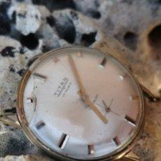 Relojes de pulsera: C1/7 RELOJ VINTAGE TITAN 34MM CUERDA PIEZAS O REPARACION. Lote 173794630