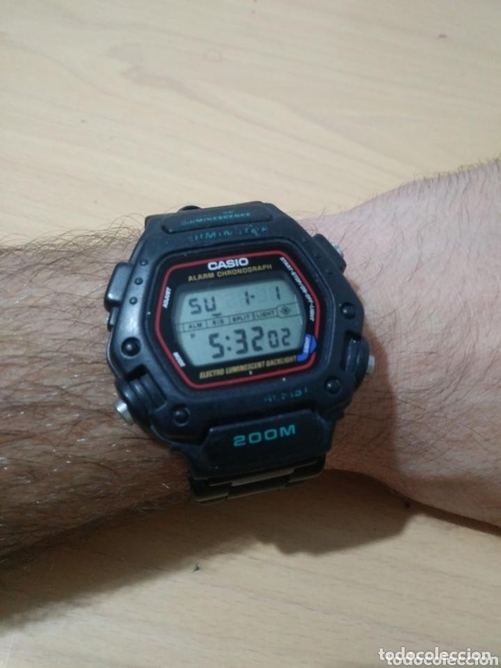 RELOJ CASIO VINTAGE DW-290-T. (Relojes - Pulsera Carga Manual)