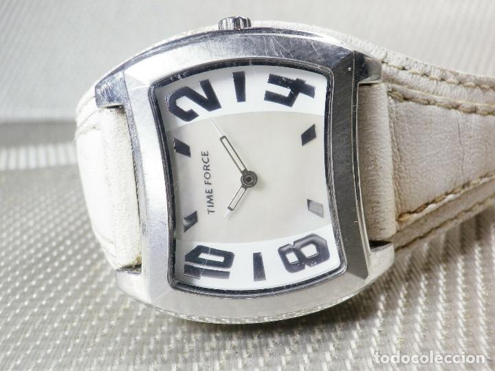 Relojes de pulsera: GRAN Y ELEGANTE TIME FORCE DE ALTA CALIDAD ACERO INOX. FUNCIONA LOTE WATCHES - Foto 3 - 173854245