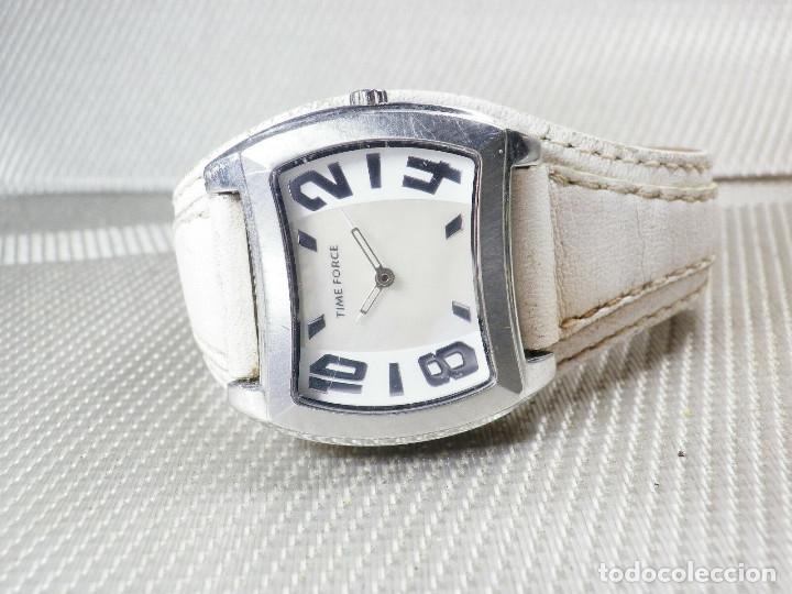 Relojes de pulsera: GRAN Y ELEGANTE TIME FORCE DE ALTA CALIDAD ACERO INOX. FUNCIONA LOTE WATCHES - Foto 5 - 173854245