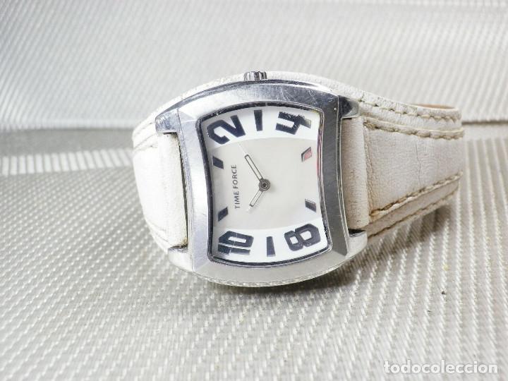 Relojes de pulsera: GRAN Y ELEGANTE TIME FORCE DE ALTA CALIDAD ACERO INOX. FUNCIONA LOTE WATCHES - Foto 7 - 173854245