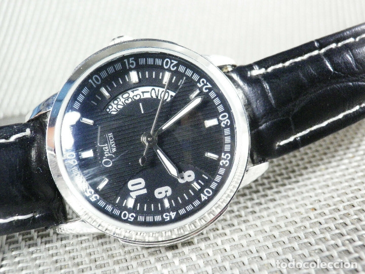 Relojes de pulsera: ELEGANTISIMO Y BELLISIMO O´PAL MONTREAL SIN USO FIN STOK FUNCIONA LOTE WATCHES - Foto 8 - 173870080