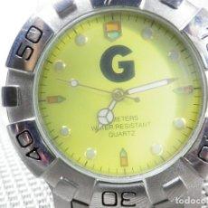 Relojes de pulsera: DEPORTIVO GRAFICC CABALLERO AÑOS 90 ANTIGUO STOK FUNCIONA PERFECTO LOTE WATCHES. Lote 173881113