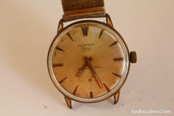 Relojes de pulsera: reloj de caballero FESTINA EXTRA,17 RUBIS - Foto 3 - 173890577