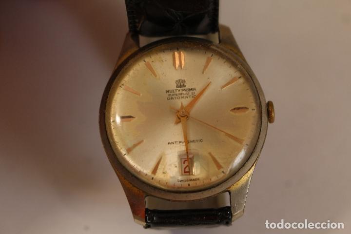 Relojes de pulsera: reloj multy prima superflat 21 datomatic - Foto 3 - 173890752