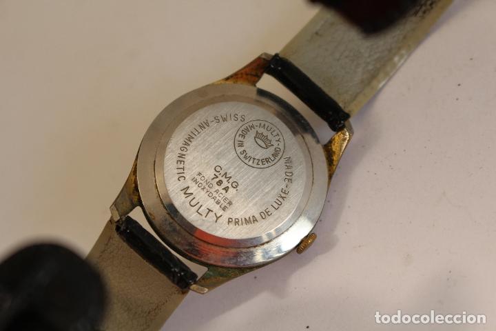 Relojes de pulsera: reloj multy prima superflat 21 datomatic - Foto 4 - 173890752