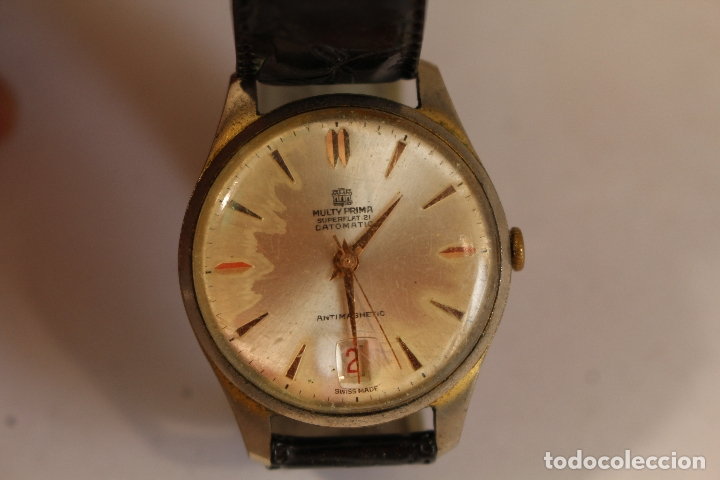RELOJ MULTY PRIMA SUPERFLAT 21 DATOMATIC (Relojes - Pulsera Carga Manual)