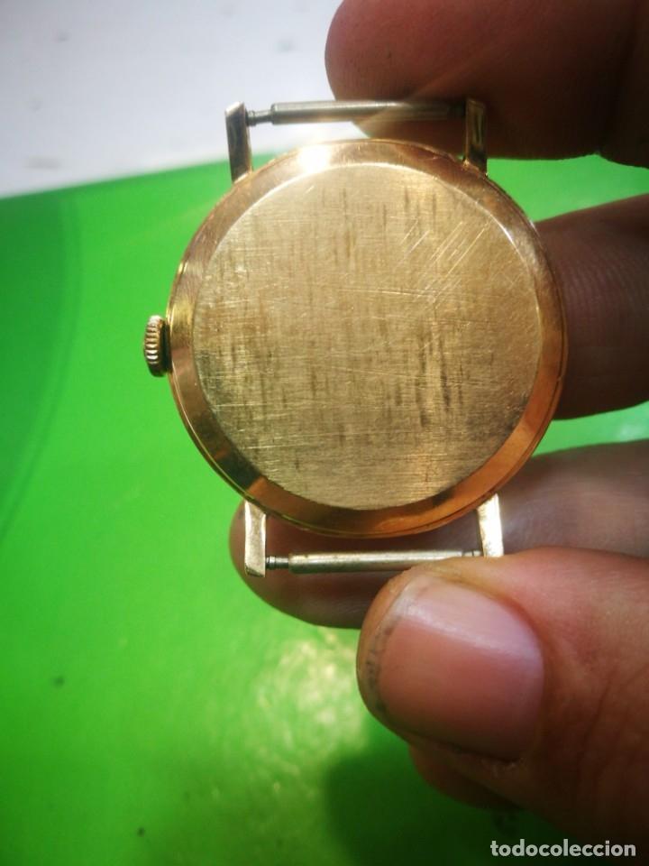 Relojes de pulsera: Reloj CYMA en solida caja de oro de 18 kilates carga manual funciona - Foto 2 - 173993607