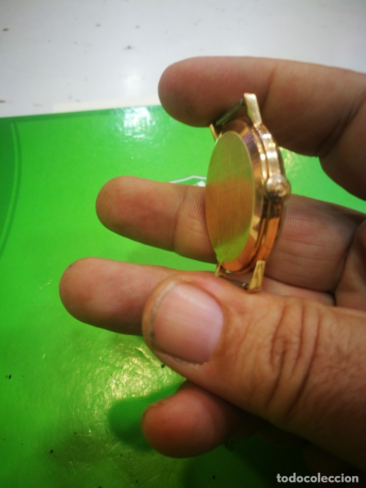 Relojes de pulsera: Reloj CYMA en solida caja de oro de 18 kilates carga manual funciona - Foto 3 - 173993607