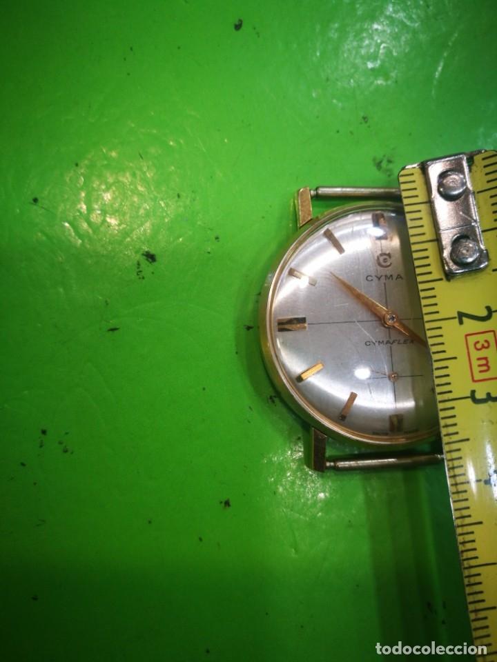 Relojes de pulsera: Reloj CYMA en solida caja de oro de 18 kilates carga manual funciona - Foto 5 - 173993607