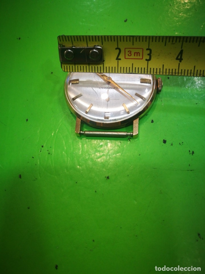 Relojes de pulsera: Reloj CYMA en solida caja de oro de 18 kilates carga manual funciona - Foto 6 - 173993607