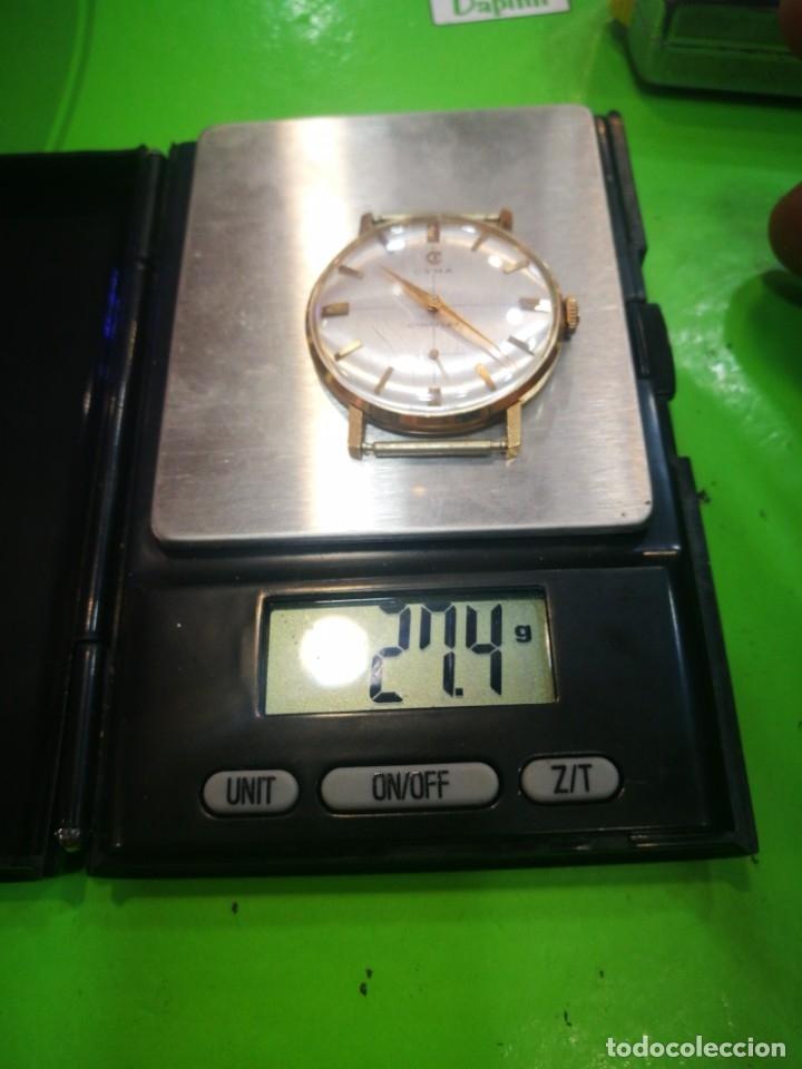 Relojes de pulsera: Reloj CYMA en solida caja de oro de 18 kilates carga manual funciona - Foto 7 - 173993607