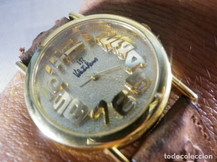 Relojes de pulsera: PRECIOSO RELOJ AÑOS 90 FIN STOK INUSUAL Y PRECIOSO DISEÑO FUNCIONA LOTE WATCHES - Foto 4 - 173996832