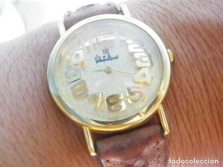 Relojes de pulsera: PRECIOSO RELOJ AÑOS 90 FIN STOK INUSUAL Y PRECIOSO DISEÑO FUNCIONA LOTE WATCHES - Foto 5 - 173996832