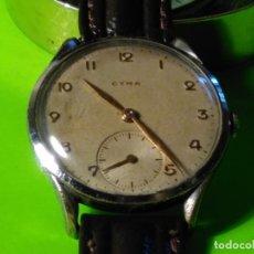 Relojes de pulsera: CYMA. R-0586 K. AÑOS 50. MANUAL. FUNCIONANDO BIEN. 36.20 MM. S/C. CALIBRE R-0586 K DESCRIP. Y FOTOS.. Lote 174004733