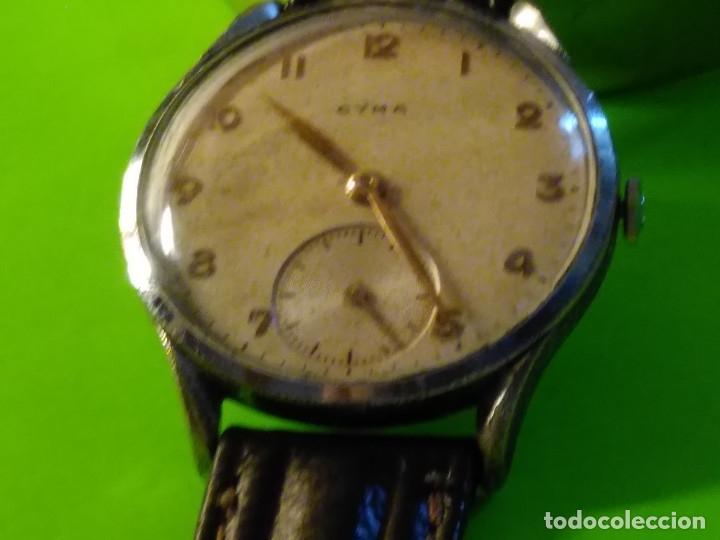 Relojes de pulsera: CYMA. R-0586 K. AÑOS 50. MANUAL. FUNCIONANDO BIEN. 36.20 MM. S/C. CALIBRE R-0586 K DESCRIP. Y FOTOS. - Foto 3 - 174004733
