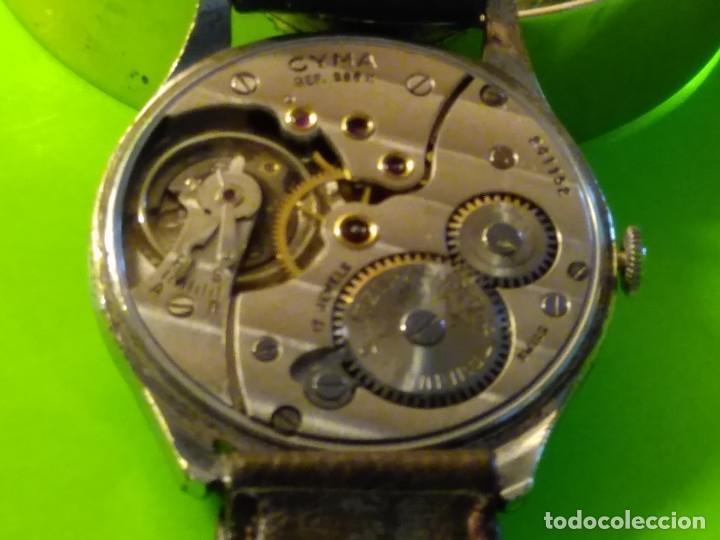 Relojes de pulsera: CYMA. R-0586 K. AÑOS 50. MANUAL. FUNCIONANDO BIEN. 36.20 MM. S/C. CALIBRE R-0586 K DESCRIP. Y FOTOS. - Foto 7 - 174004733