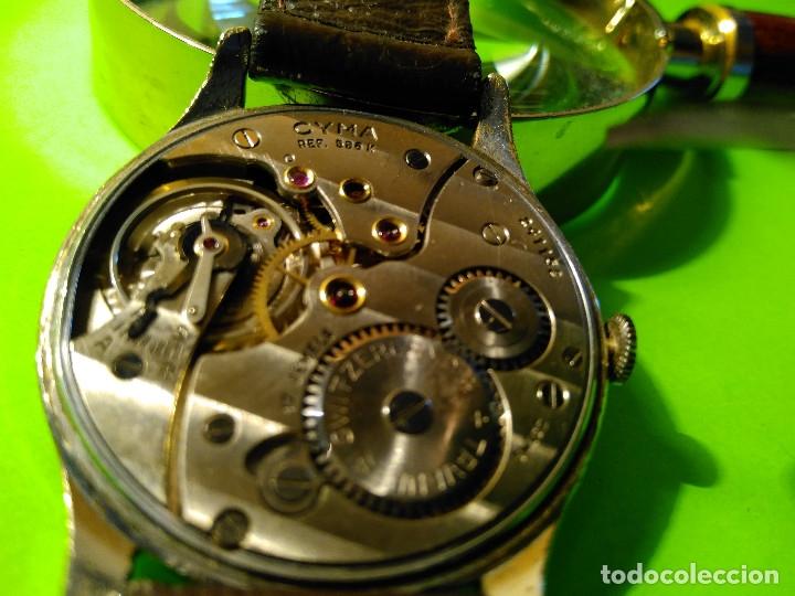 Relojes de pulsera: CYMA. R-0586 K. AÑOS 50. MANUAL. FUNCIONANDO BIEN. 36.20 MM. S/C. CALIBRE R-0586 K DESCRIP. Y FOTOS. - Foto 8 - 174004733