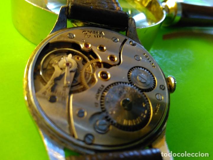 Relojes de pulsera: CYMA. R-0586 K. AÑOS 50. MANUAL. FUNCIONANDO BIEN. 36.20 MM. S/C. CALIBRE R-0586 K DESCRIP. Y FOTOS. - Foto 9 - 174004733