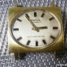 Relojes de pulsera: ORIGINAL ANTIGUO SMITHS CON MUCHA SOLERA MUY BONITO PARA REPARAR O RESTAURAR. Lote 174033762