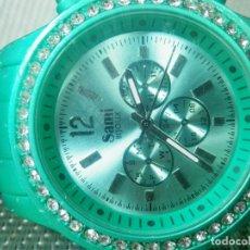 Relojes de pulsera: ORIGINAL SAMI DAMA Nº SERIE SIN USO FIN STOK SUMERGIBLE 30 METROS LOTE WATCHES. Lote 174034143