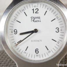 Relojes de pulsera: PIERRE RUCCIE ECSTACY CABALLERO AÑOS 90 SIN USO Nº SERIE FUNCIONA LOTE WATCHES. Lote 174036455